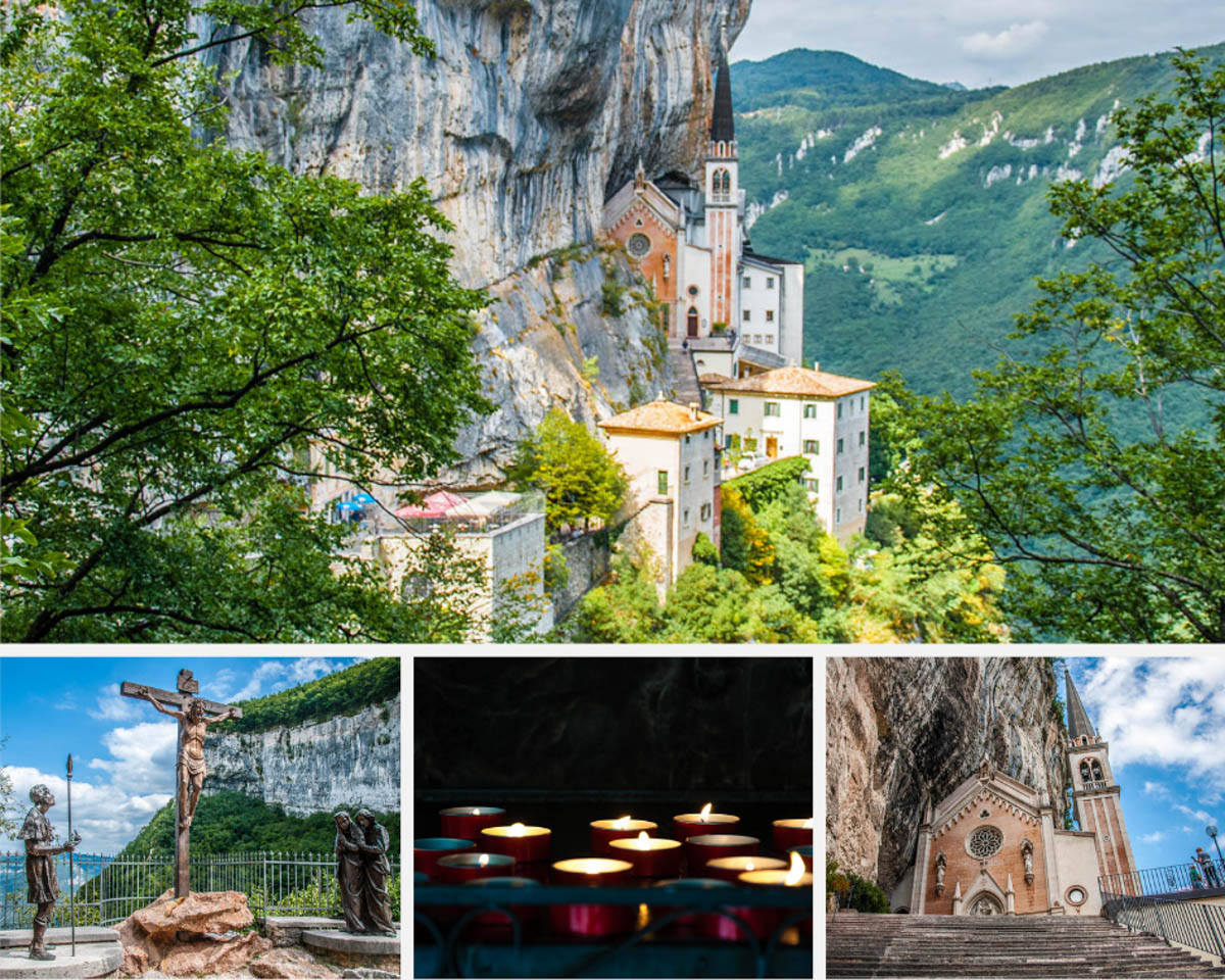 Sanctuary of Madonna della Corona - Visiting Italy's Rock-Hewn Church Between Heaven and Earth - www.rossiwrites.com