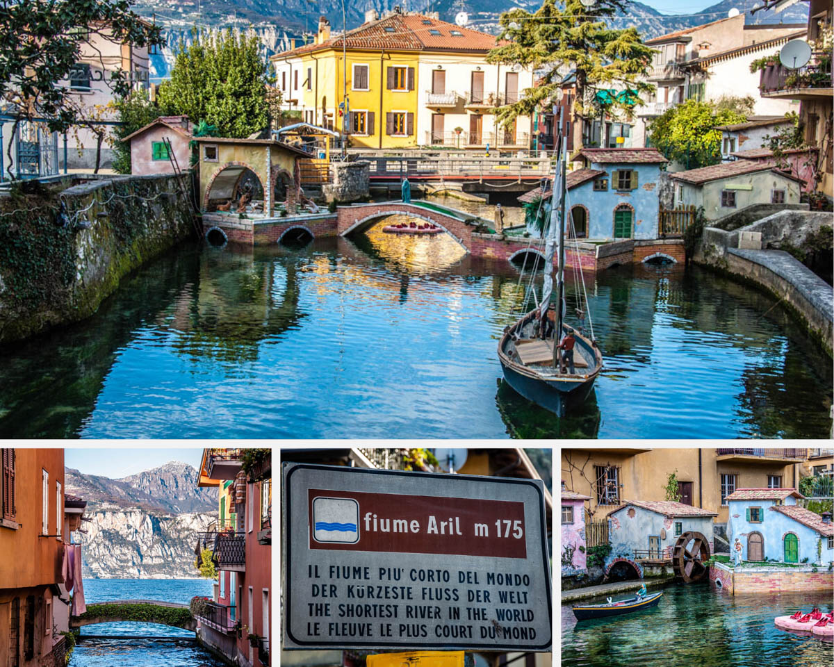 The Shortest River in Italy - Visiting the River Aril in Cassone at Lake Garda - rossiwrites.com