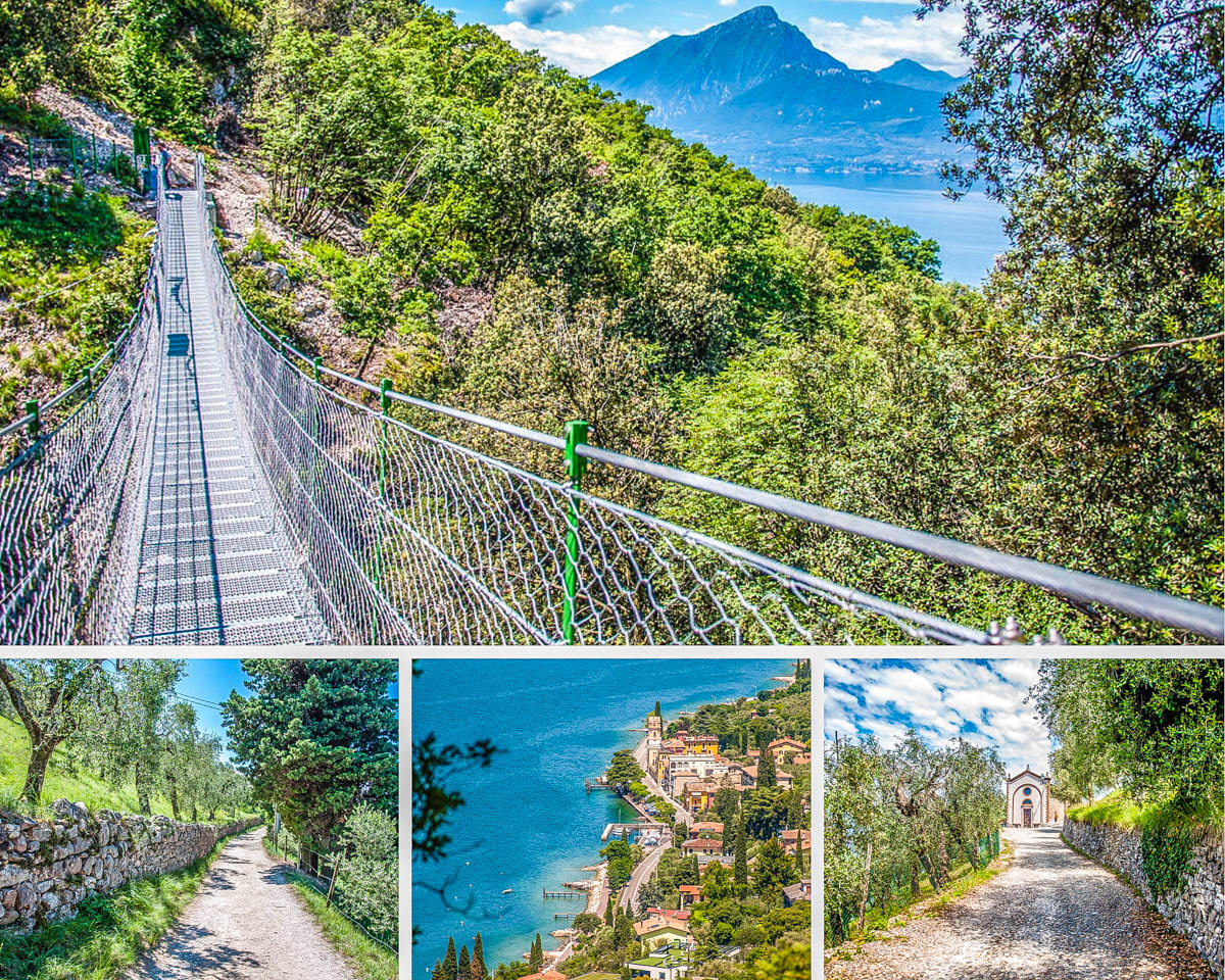 Lake Garda's Tibetan Bridge - A High-Adrenaline Hiking Experience in the Veneto, Italy - rossiwrites.com