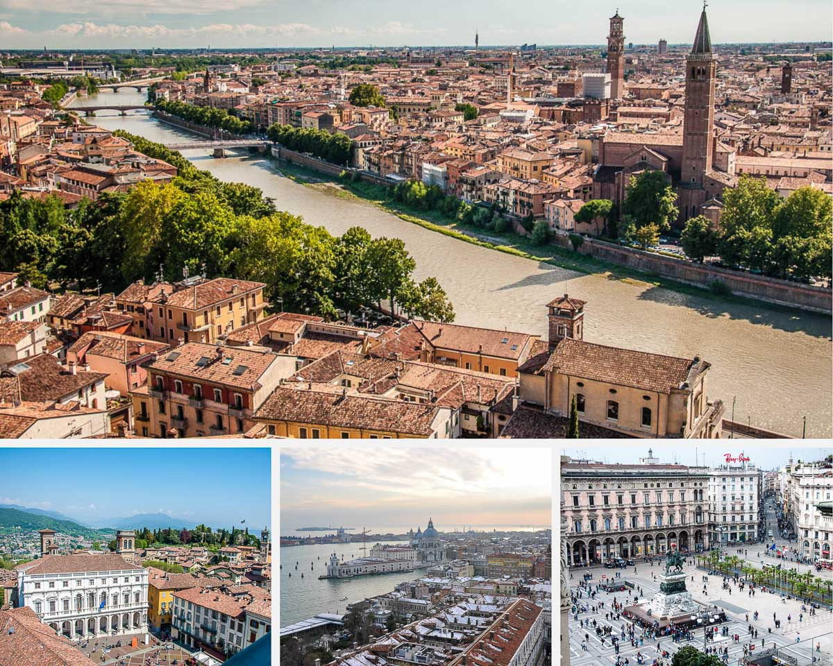 11 Major Airports in Northern Italy (With Map, Nearest Cities and Public Transport Options) - rossiwrites.com