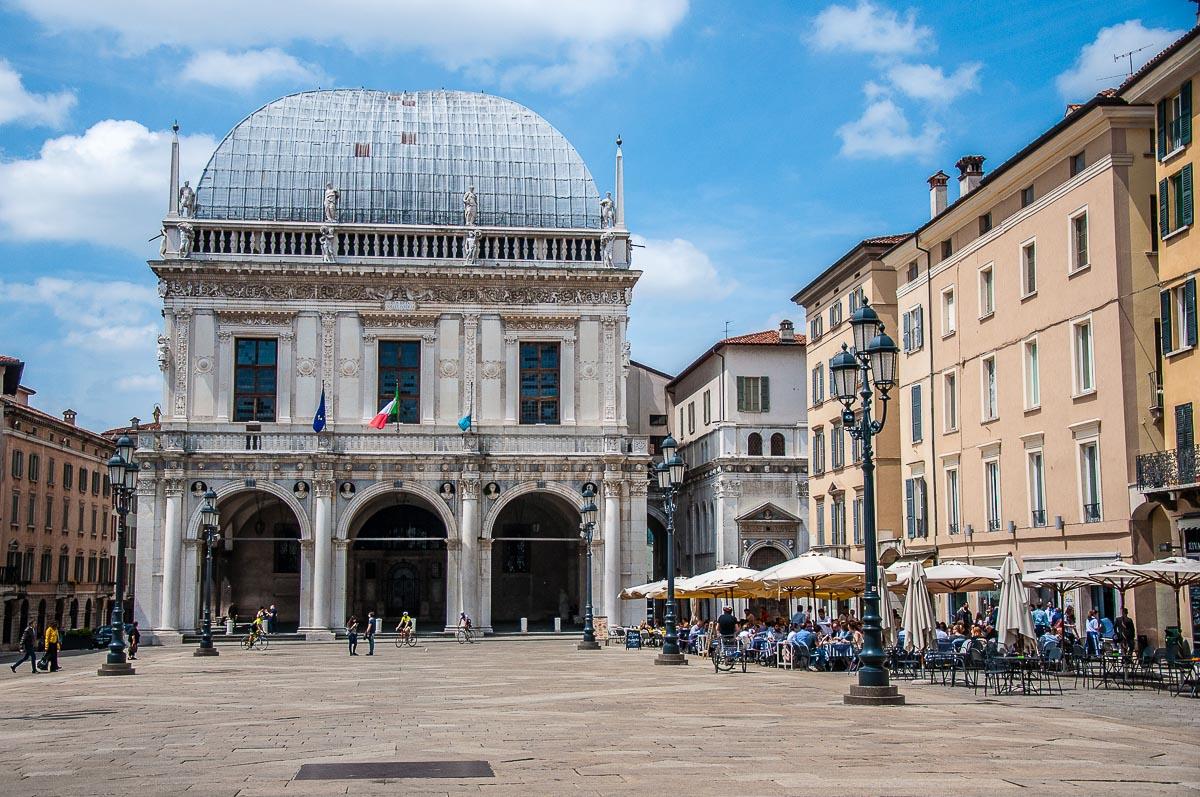 Piazza della Loggia in Brescia - Lombardy, Italy - rossiwrites.com